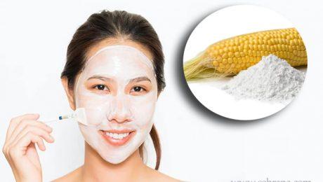 انواع ماسک نشاسته ذرت برای پوست صورت