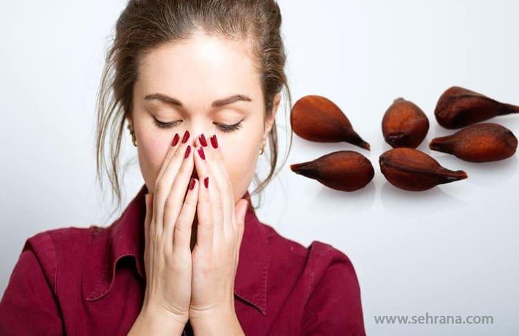 درمان سرفه با دانه های به